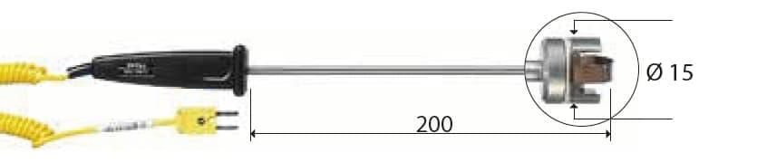 Kontaktowa termopara typu K DeltaOHM TP754