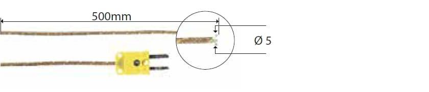 Kontaktowa termopara typu K DeltaOHM TP772