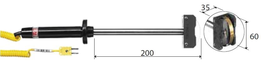 Kontaktowa termopara typu K DeltaOHM TP774