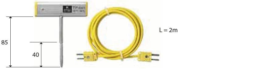 Penetracyjna termopara typu K DeltaOHM TP661