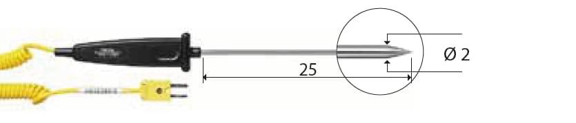 Penetracyjna termopara typu K DeltaOHM TP751