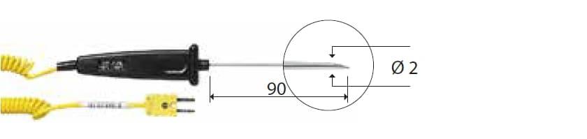 Penetracyjna termopara typu K DeltaOHM TP776