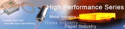 Pirometry stacjonarne z serii High Performance