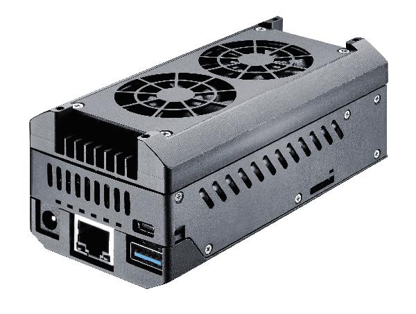 Komputer przemysłowy PI NexBox - przód