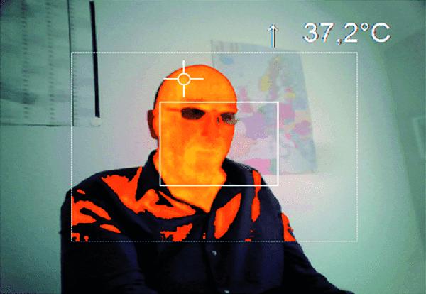 Nakładanie obrazu termowizyjnego na obraz pochodzący z kamery video