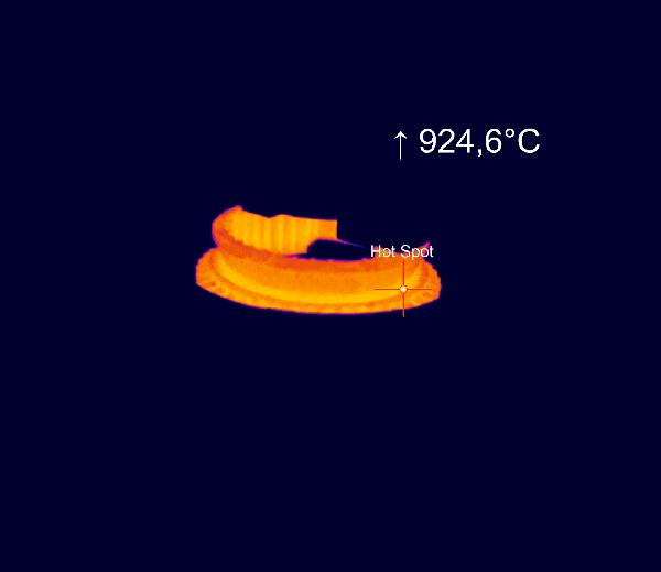 Pomiar temperatury podczas procesu hartowania indukcyjnego