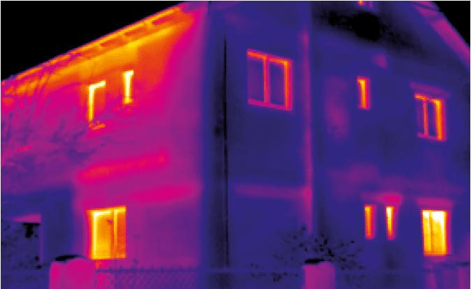Detekcja termowizyjna strat cieplnych