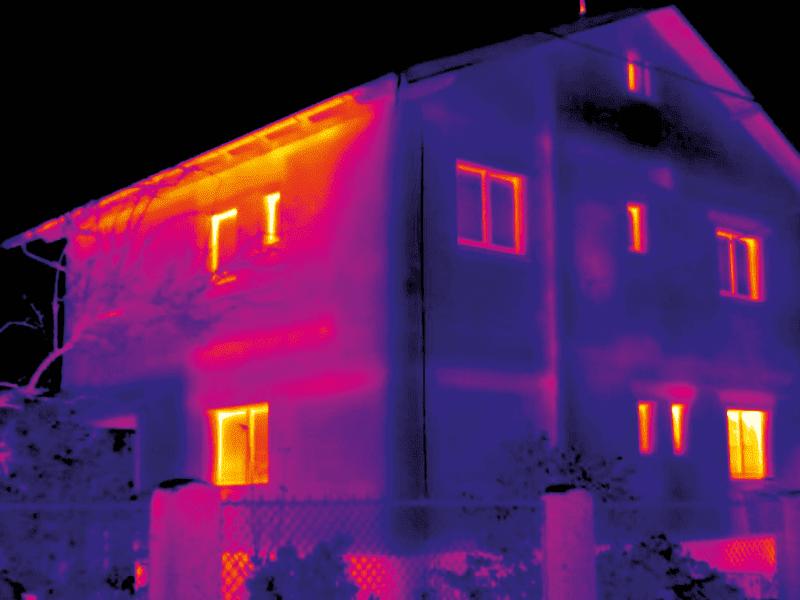 diagnostyka termiczna budynków