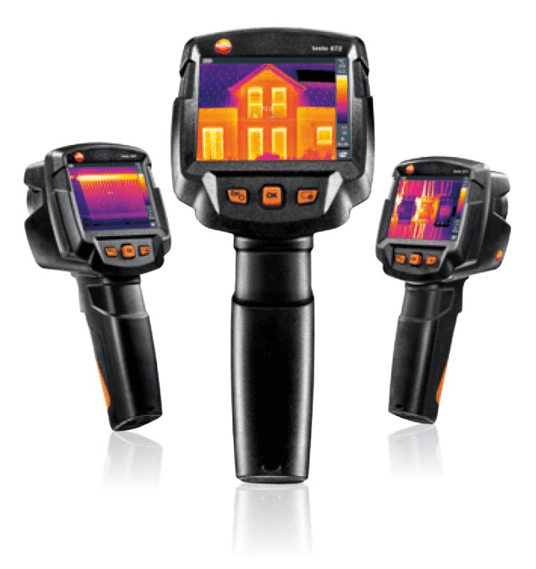Kamery termowizyjne testo z serii 86x i 87x