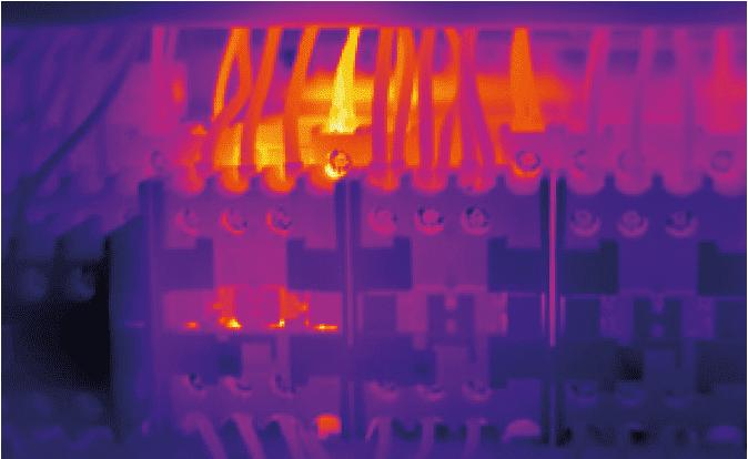 lokalizacja termowizyjna przegrzanych bezpiecznikow