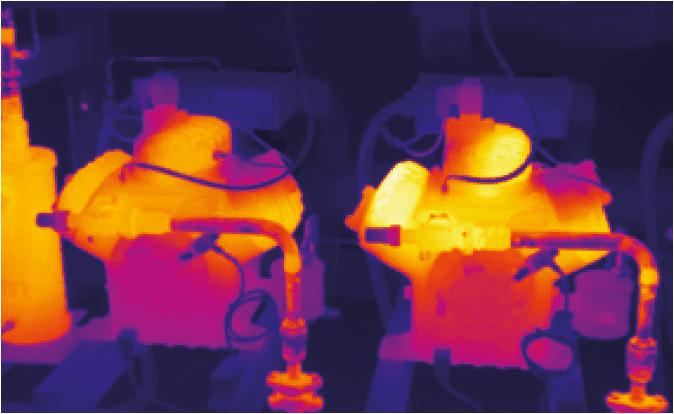 Lokalizacja termowizyjna wycieku w rurociągach