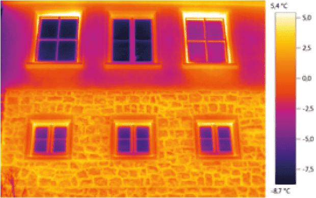 pomiar termowizyjny bez funkcji scale assist
