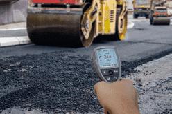 pomiar temperatury asfaltu i masy bitumicznej