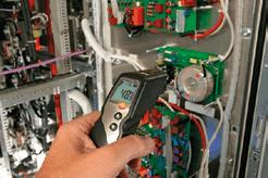 pomiary pirometrem w instalacjach elektrycznych