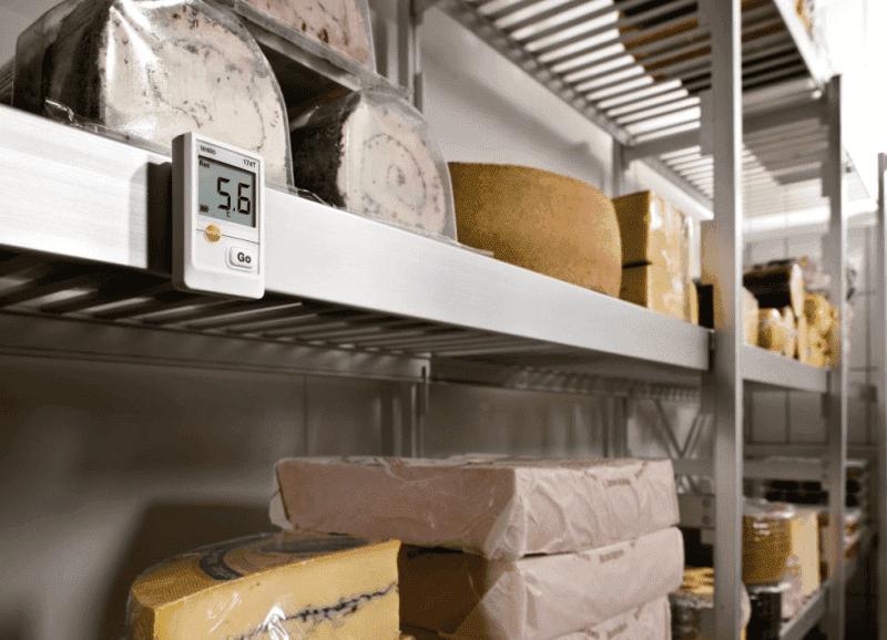 Monitoring temperatury produktów wrażliwych podczas magazynowania