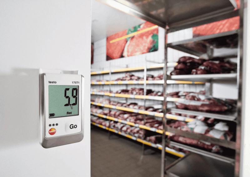 Monitorowanie i dokumentowanie temperatury w chłodniach i mroźniach