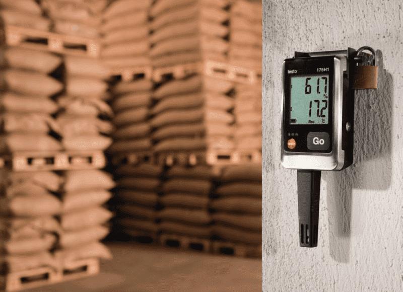 Monitoring temperatury i wilgotności produktów wrażliwych podczas magazynowania