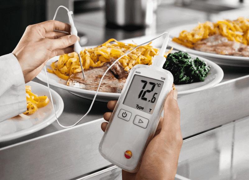 Monitorowanie temperatury produktów