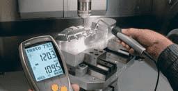 Szybki pomiar temperatury powierzchni za pomocą sond krzyżykowych