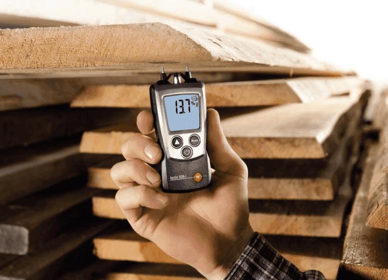 Określanie stopnia wilgotności drewna