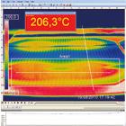 Monitorowanie temperatury procesu lutowania ciągłego